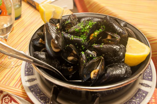 Ristorante L'Alta Marea : Steamed mussels