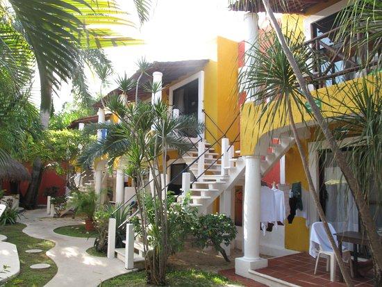 El Acuario Hotel: Appartements unten und oben