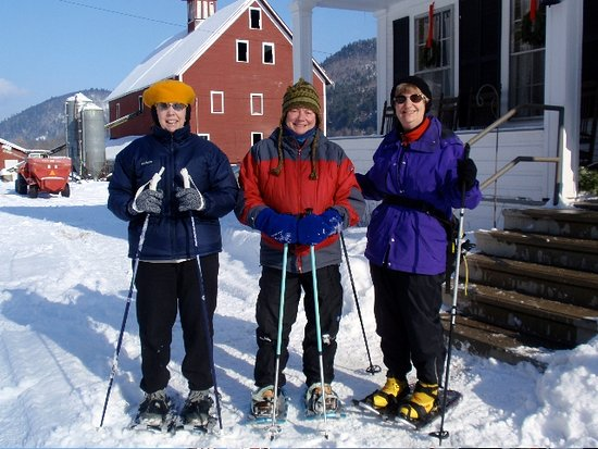 Rochester, VT: winter fun on snowshoes