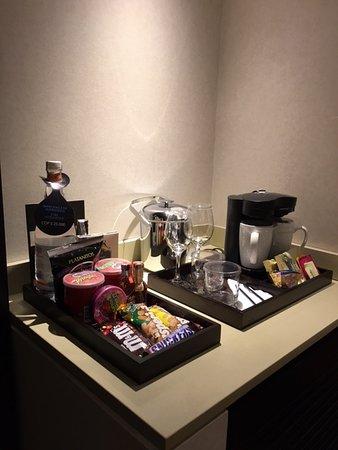 Hilton Bogota : Café en la habitación