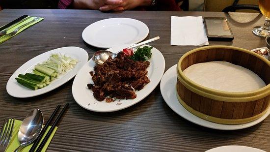 China Lodge: Crispy Mongolian lamb pancakes