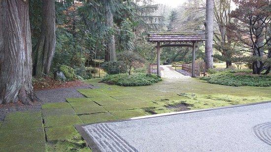 Bainbridge Island, WA: One view of the Zen garden