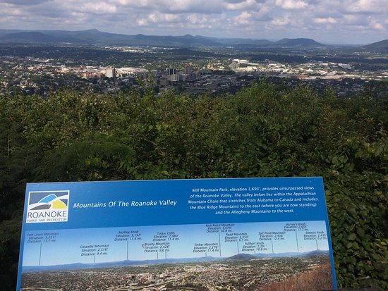 View Downtown Roanoke helpful map shows the landmarks Picture of