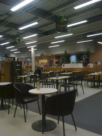 Brookwood Sainsbury's Cafe - general view
