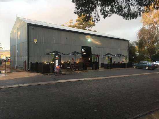 Paradise Of Happiness Review Of Here S Your Beer Burger Bar Loxton Australia Tripadvisor