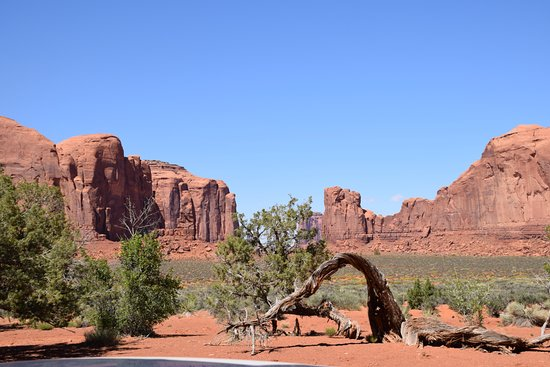 Window Rock, AZ: entre les three sisters et totem pole