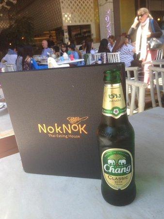 Nok Nok Thai Eating House: $5 Chiang Beer