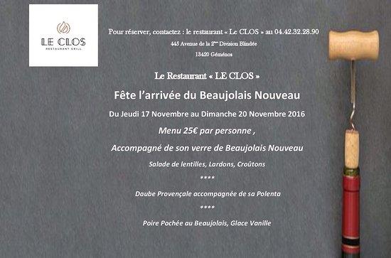 Gemenos, Francia: Le Clos