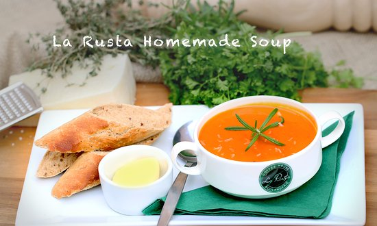 Homemade Soup Of The Day Picture Of La Rusta Crawley Tripadvisor