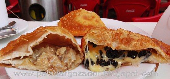 las deliciosas: pino de locos y aceituna-queso