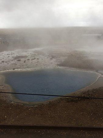 Kopavogur, İzlanda: A geyser at Geysir