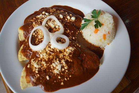 home-made mole de Chiapas