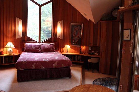 Eastsound, واشنطن: Heron Cove Bedroom