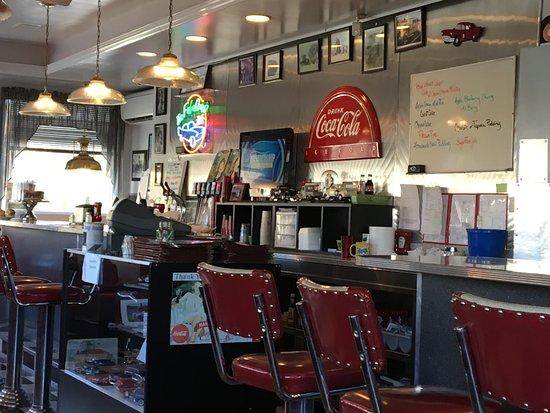 Copake Diner counter circa 1960's.