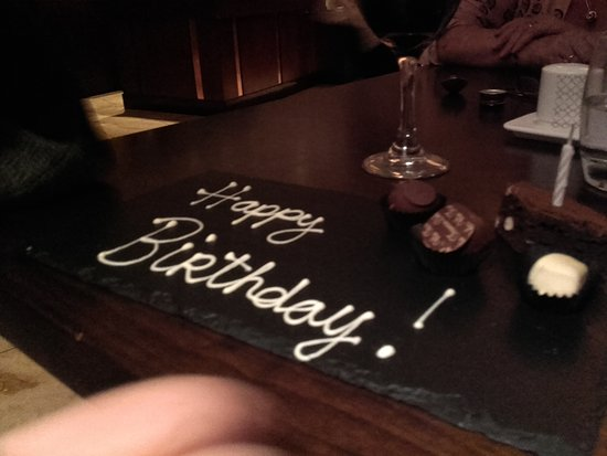 Fota Island, Irlanda: Birthday greetings