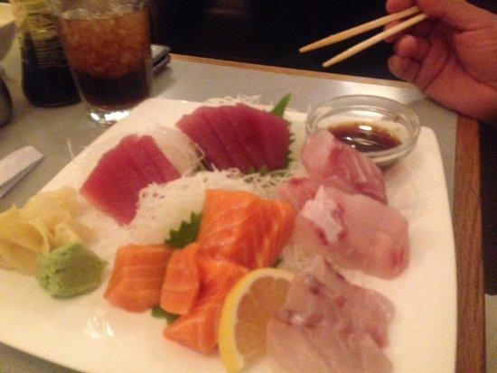 Seal Beach, CA: Sashimi Plate