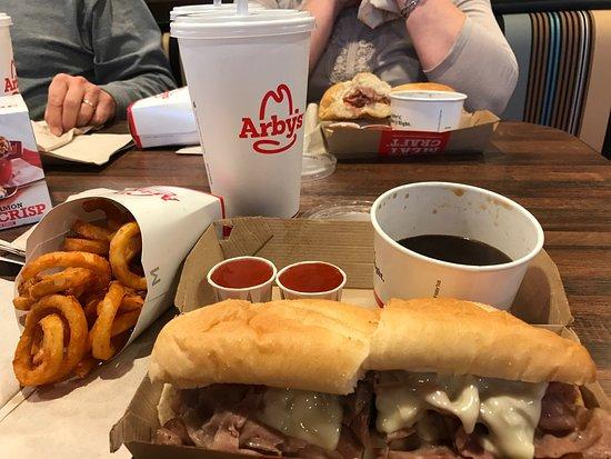 Walker, MI: French dip sandwich