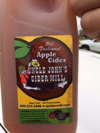 Saint Johns, MI: Really great cider