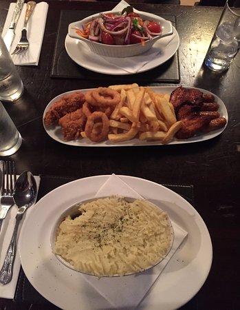 Tinahely, Irland: 1st nights dinner