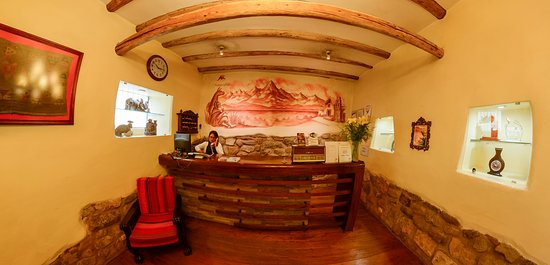 Apu Huascaran Hostal: Cálida arquitectura regional.