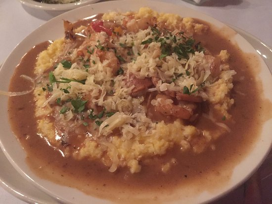 The Jockey Club : Some of the best shrimp and grits I ever had.