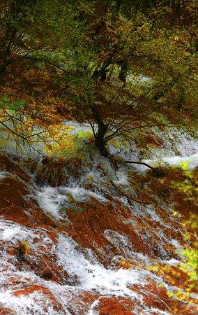 Heishui County, China: waterfall Songpan Sichuan