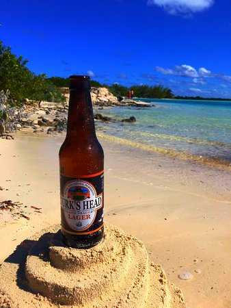 North Caicos: Cold one in North Mouth