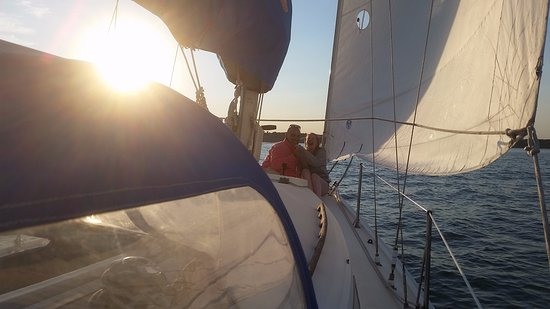 Capt Lyman Stuart, LLC: Proposal Sail - she said yes!