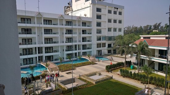 Pool Area Picture Of Mirasol Water Park Resort Daman Tripadvisor