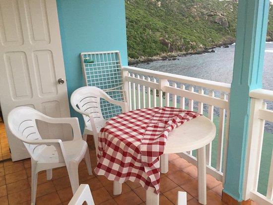 Auberge de la Petite Anse : Varanda