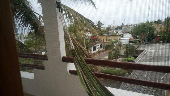 Hotel Galapagos Suites: Agradable atardecer y descanso post recorrido en la isla