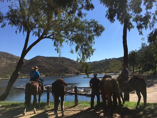 Poway, CA: Looking for something more adventurous? Come on a Destination trail ride with us.