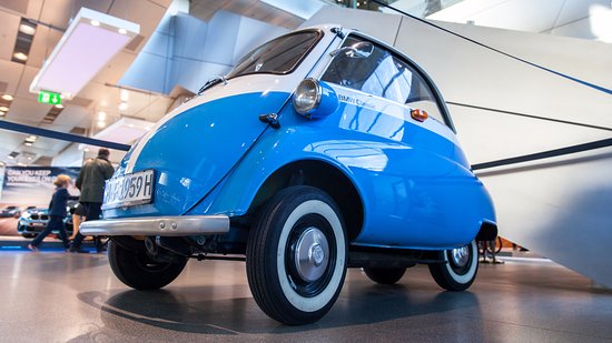 Took a ride in this classic BMW Isetta - Picture of BMW Welt