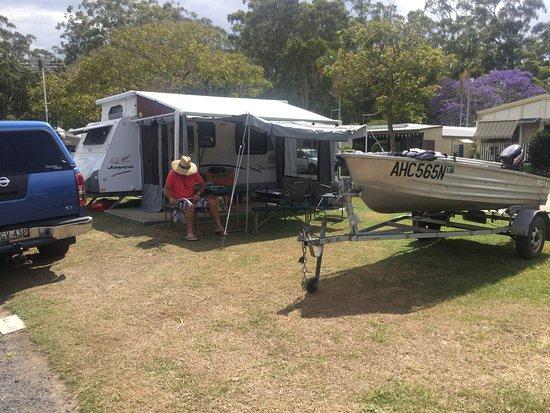 Iluka, Australia: Campsite