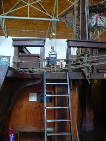 Bartolomeu Dias Museum Complex: A replica of Bartolomeu Dias Caravel Ship