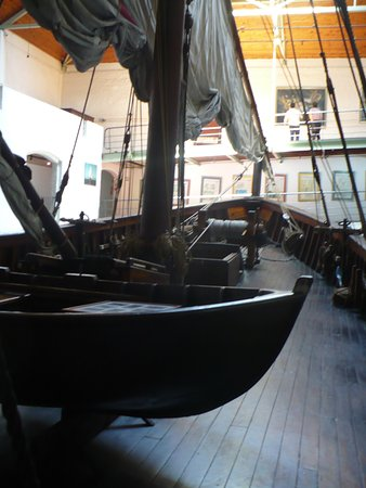 Bartolomeu Dias Museum Complex: The ship was wooden and not as large as I had expected
