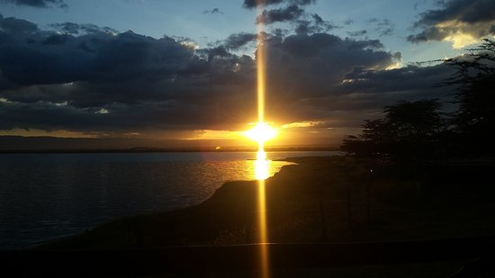 Lake Elementaita, Kenia: Spectacular sunset