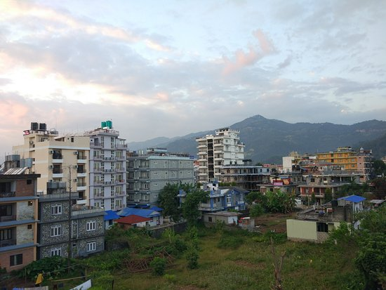 Green Tara Hotel: View from the rooftop
