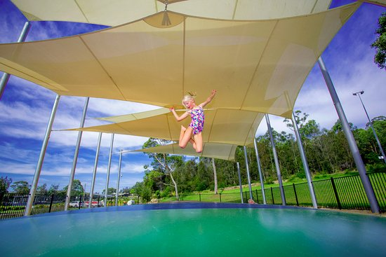 Lake Conjola, Australia: Jumping Cushion