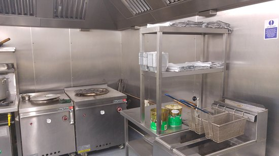 Kitchen - cold room storage - Picture of Vale Curry House