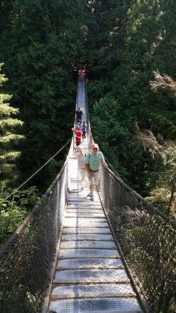 North Vancouver, Canadá: lynn canyon park-ponte
