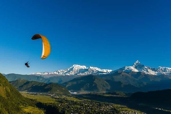 Cloud Base Paragliding Nepal