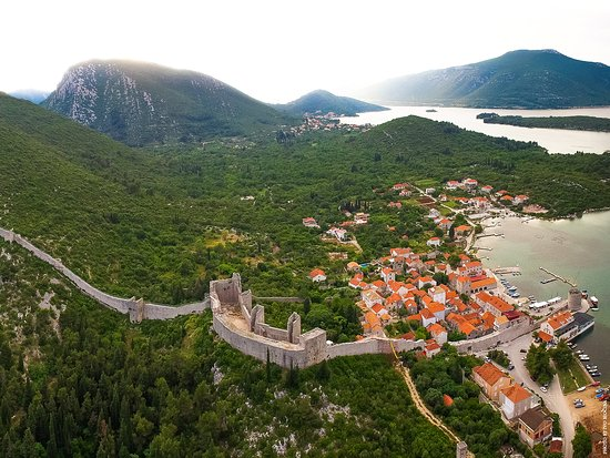 Kroatia: Walls of Ston