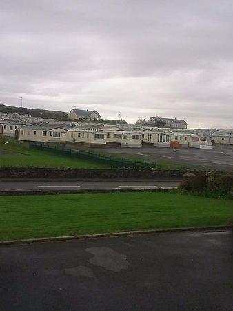 Lahinch, Irland: vue de notre chambre....