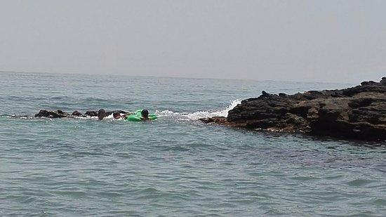 Las Yucas Beach: скалы
