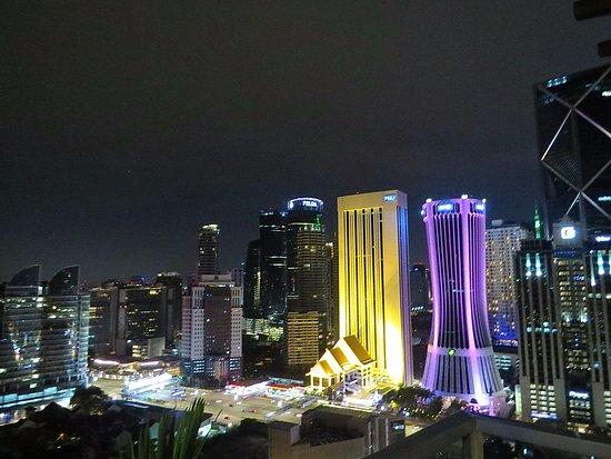 Somerset Ampang Kuala Lumpur: вид из бассейна