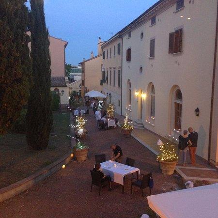 Casciana Terme, Italia: preparazione della festa sul tartufo