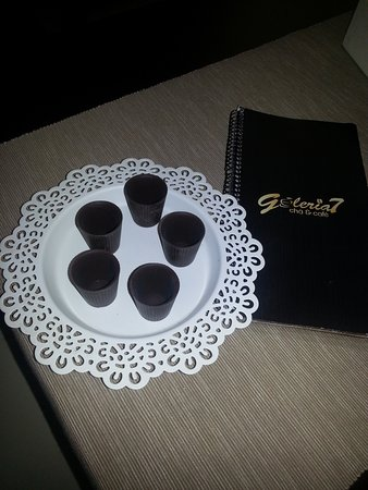 Mortagua, Portugal: Ginjinha with chocolat ;)