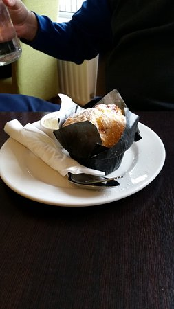 Ballincollig, İrlanda: Carmel & coconut muffin