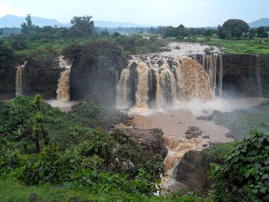 Amhara Region, Etiopía: Blue Nilles Falls, Bahir Dar